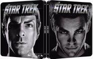 Star Trek 1 disc Blu-ray Region B UK Steelbook cover, variant 1