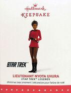 Hallmark 2015 Lieutenant Nyota Uhura