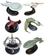 Legends In 3 Dimensions Star Trek ships
