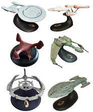 Legends In 3 Dimensions Star Trek ships