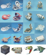 Playmates Star Trek Innerspace starship prototypes
