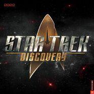 Star Trek Discovery Calendar 2022