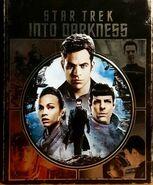 Star Trek Into Darkness 1-disc Blu-ray Region A-B Exclusive Embossed Metalpak cover