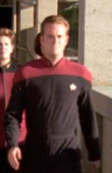 ... as a Starfleet cadet