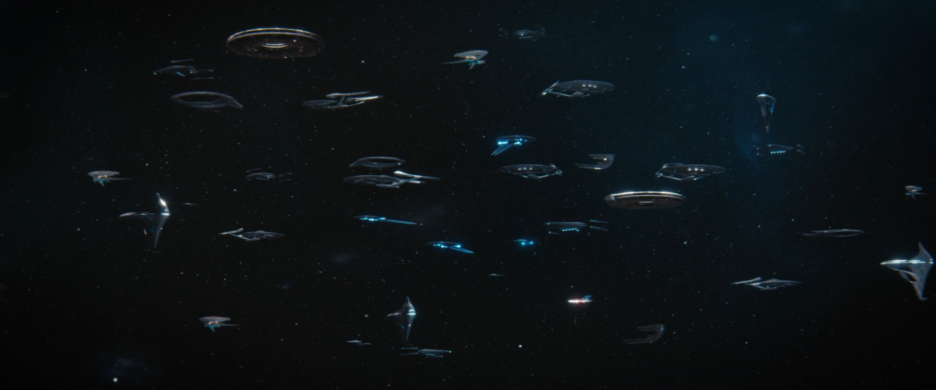 Unnamed Constitution type starships
