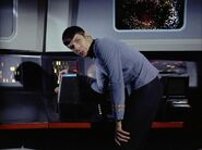 Spock at science station