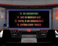 DVD-Menü TOS Staffel 3 Disc 6