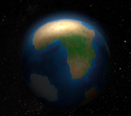 Earth when the stars were made
