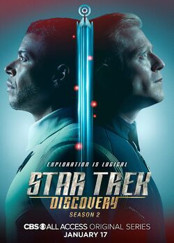 Star Trek Discovery Season 2 Hugh Culber and Paul Stamets poster.jpg