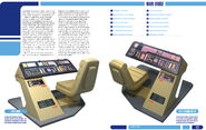 USS Enterprise Owners Workshop Manual pp. 116-117 spread