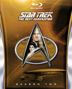 TNG Season 2 Blu-ray cover
