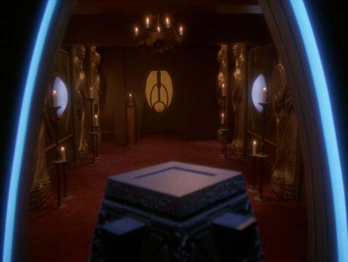Bajoranischer Tempel auf Deep Space 9