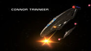 ISS Enterprise fires on planet in ENT MU opening titles