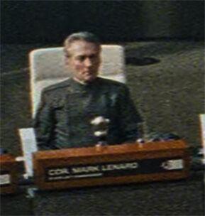 Commander Mark Lenard