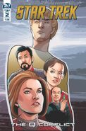 Star Trek The Q Conflict issue 2 cover B