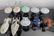 Furuta Star Trek Vol 2 displayed