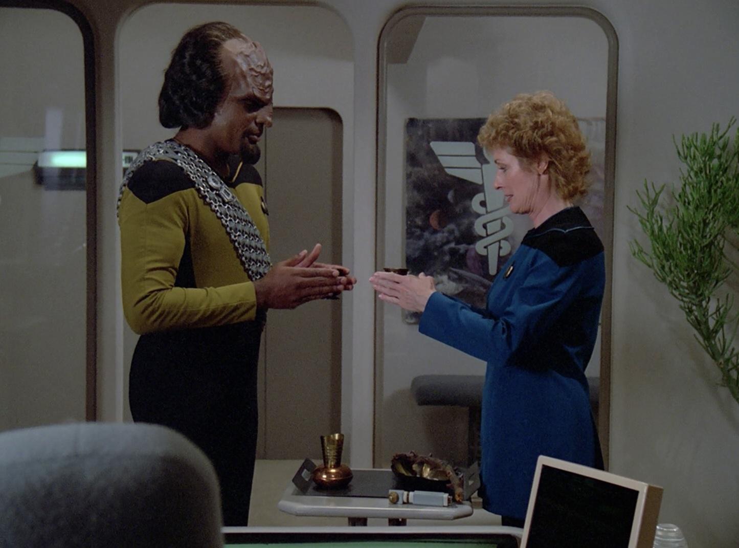 Klingonische Teezeremonie