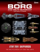 Star Trek Shipyards The Borg and Delta Quadrant Akritirian to Krenim second cover