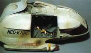 USS Liverator's shuttle