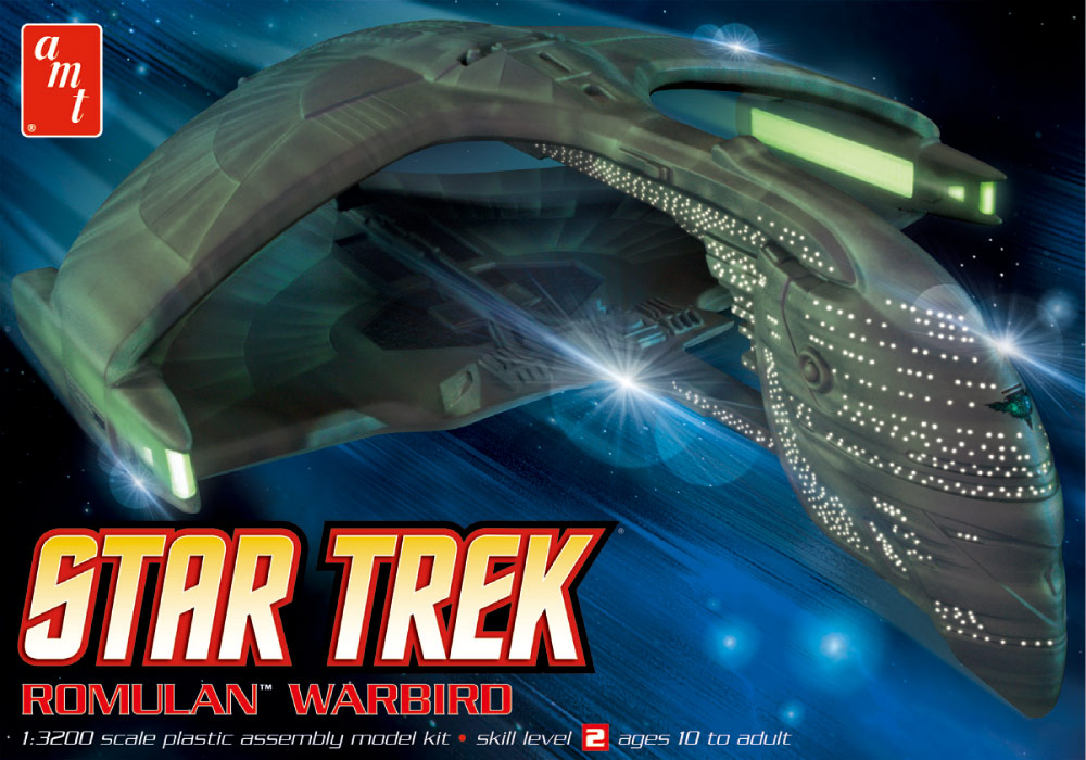 AMT Model kit AMT753 Romulan Warbird 2012.jpg