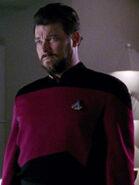 Hologramm von William Riker 2366 im Zehn Vorne