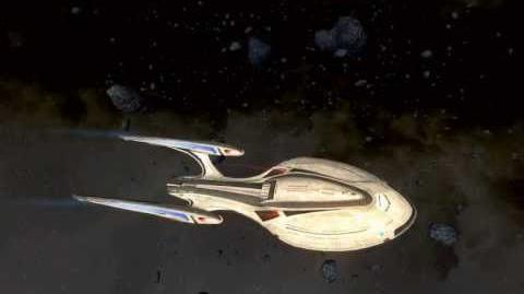 STAR TREK ONLINE HD Species 8472-The Undine vs Odyssey Class (2012)