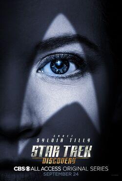 Star Trek Discovery Season 1 Sylvia Tilly poster.jpg