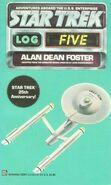 Star Trek Log 5 reprint cover