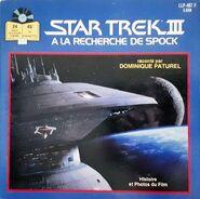 Star trek III à la recherche de spock, audio roman vf