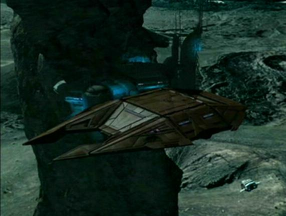 Suliban stealth cruiser