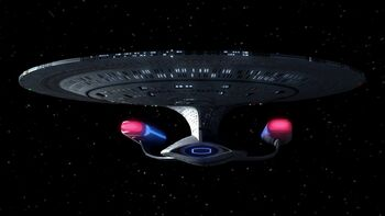 The USS <i>Enterprise</i>-D