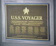 Voyager plaque