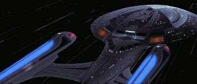 Enterprise fliegt mit Warpgeschwindigkeit.jpg