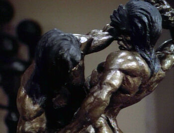 Kahless and Morath fight