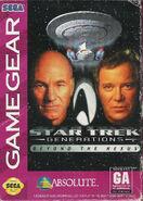 Star Trek Generations Beyond the Nexus Game Gear Cover