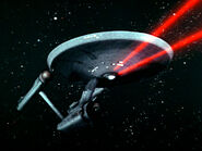 USS Enterprise red phasers