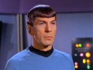 Garth as Spock
