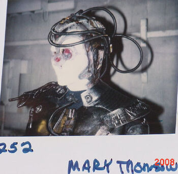 """Thompson on a continuity Polaroid from TNG """"Descent"""""""