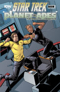 Primate Directive issue 3 cover A