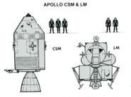 Apollo CSM & LM