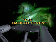 1x13 The Galileo Seven title card