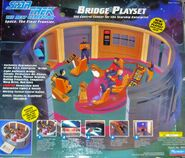 Playmates Enterprise-D Bridge (front)