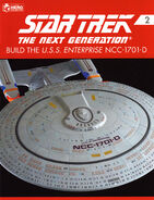 Star Trek TNG Build The USS Enterprise-D issue 2