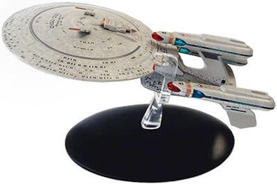 Raumschiffsammlung Abonnement Enterprise aus der Zukunft.jpg