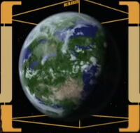 Jedna strona planety Talax