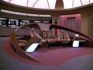 USS Enterprise NCC-1701-D aft bridge section