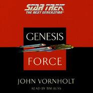 Genesis Force audiobook cover, digital edition