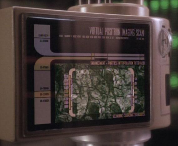 Virtual positron imaging scan