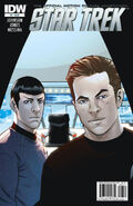 Star Trek - The Official Motion Picture Adaptation issue 6 cover