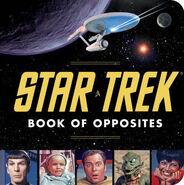 Star Trek Book of Opposites cover